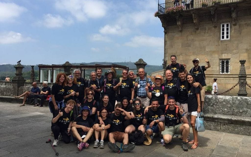 Camino Santiago en grupo organizado desde Sarria