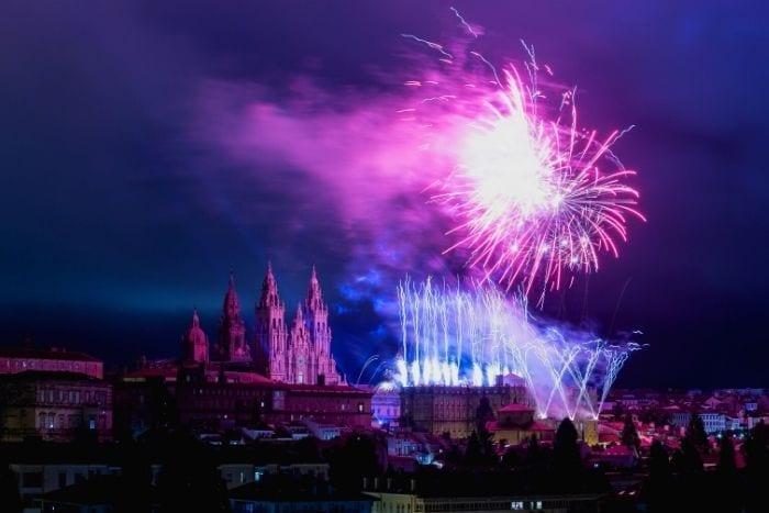 Fiestas del Apostol en Santiago de Compostela