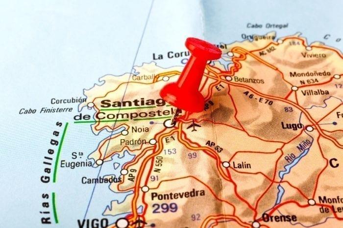 Santiago de Compostela Caminos de Santiago