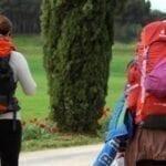 La mochila en el Camino de Santiago