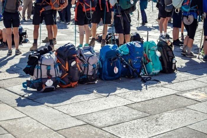 Mochilas para hacer el Camino de Santiago