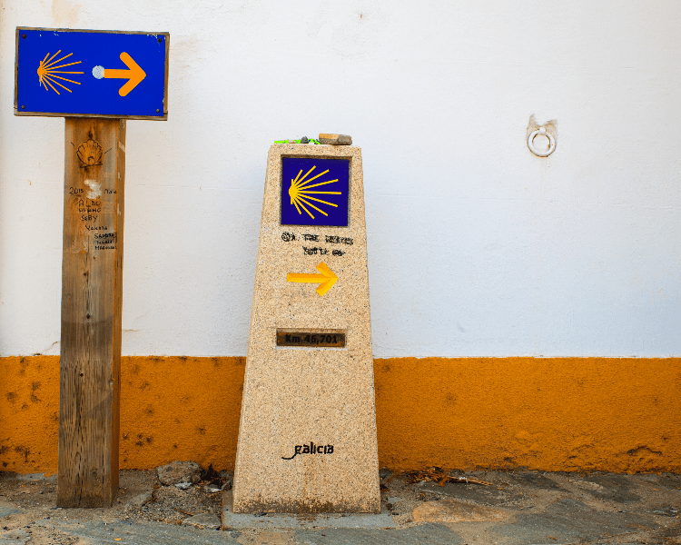 Las señales del Camino de Santiago