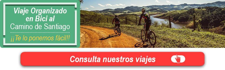 Viaje organizado en Bici al Camino de Santiago