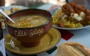 La comida en el Camino de Santiago