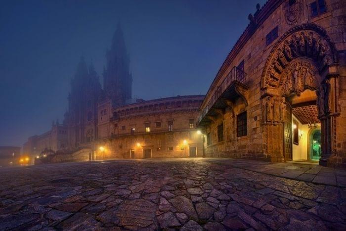 Plaza del Obradoiro en Santiago de Compostela
