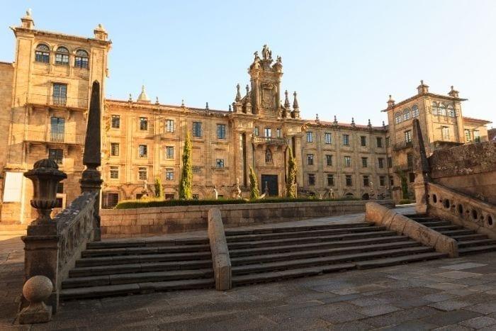 Monasterio de San Martín Pinario en Santiago de Compostela