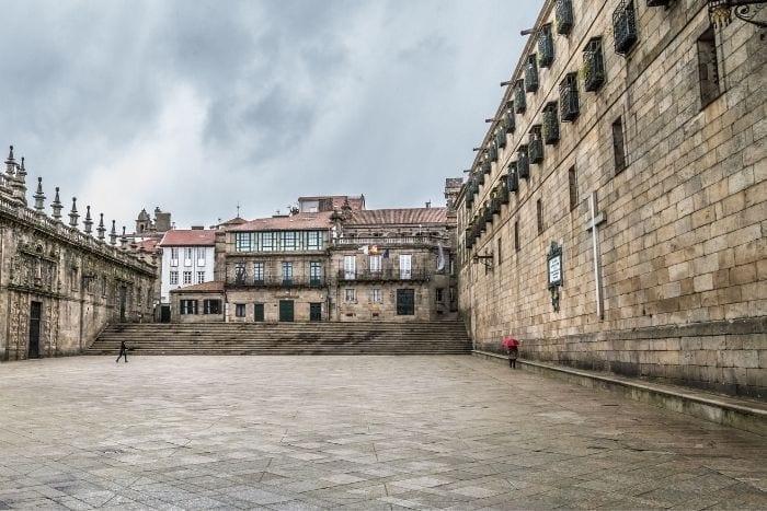 Plaza Quintana Santiago de Compostela