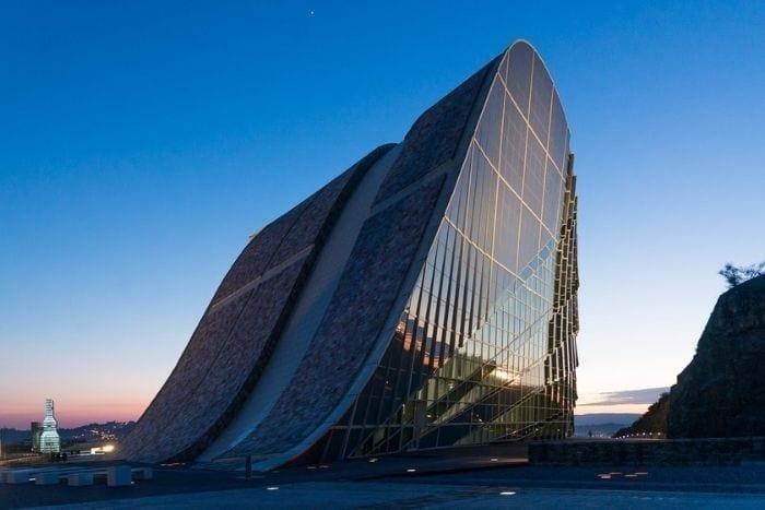 Ciudad de La Cultura en Santiago de Compostela