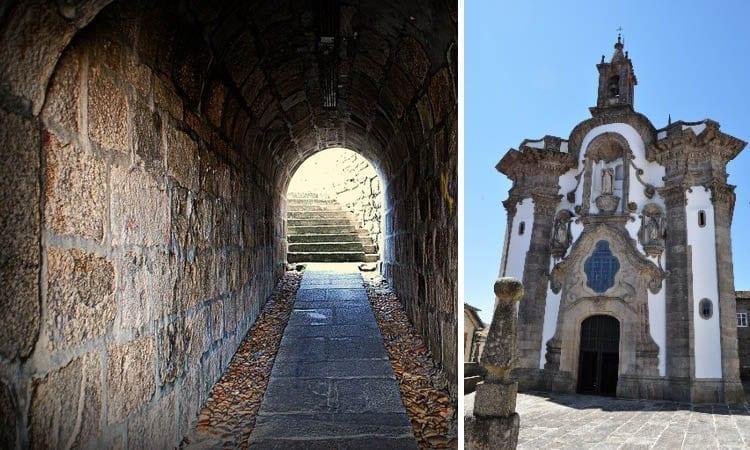 iglesia de San Telmo y túnel de las Clarisas