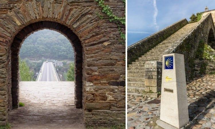 Escalinata y capilla de las Nieves