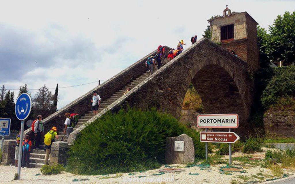 Entrada Portomarín