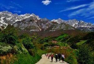 Picos de Europa Camino de Santiago