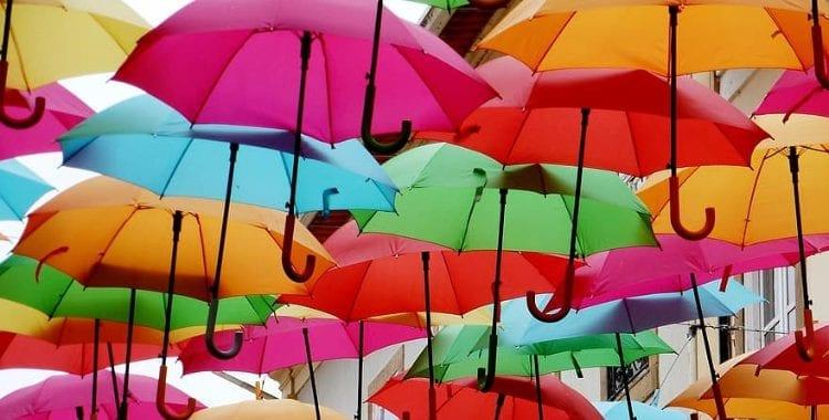 Ombrelli colorato