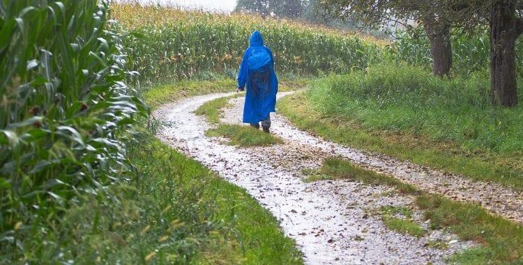 Take the raincoat