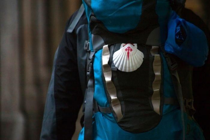 Backpack camino de santiago