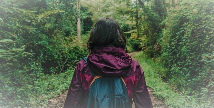 Sola en el Camino