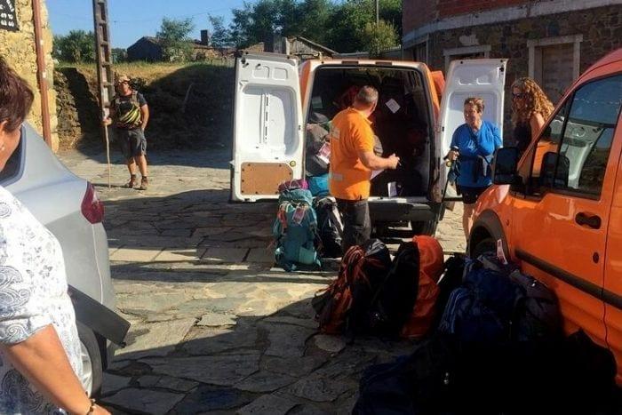 Como funciona el transporte de equipaje en el Camino de Santiago