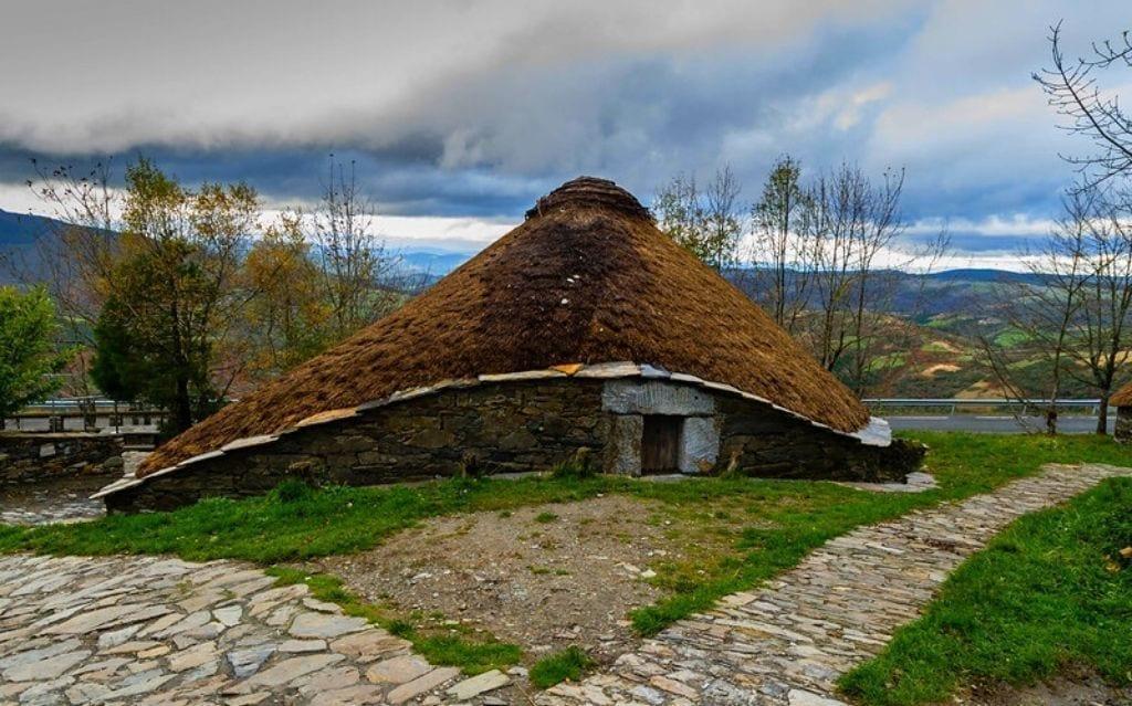 Camino rural gallego