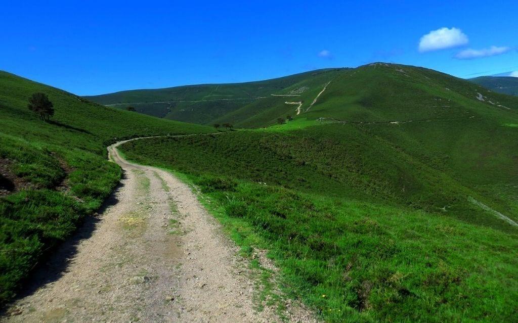 Camino primitivo bonito