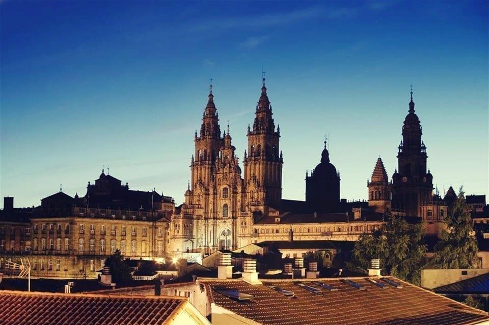 Views of Santiago de Compostela