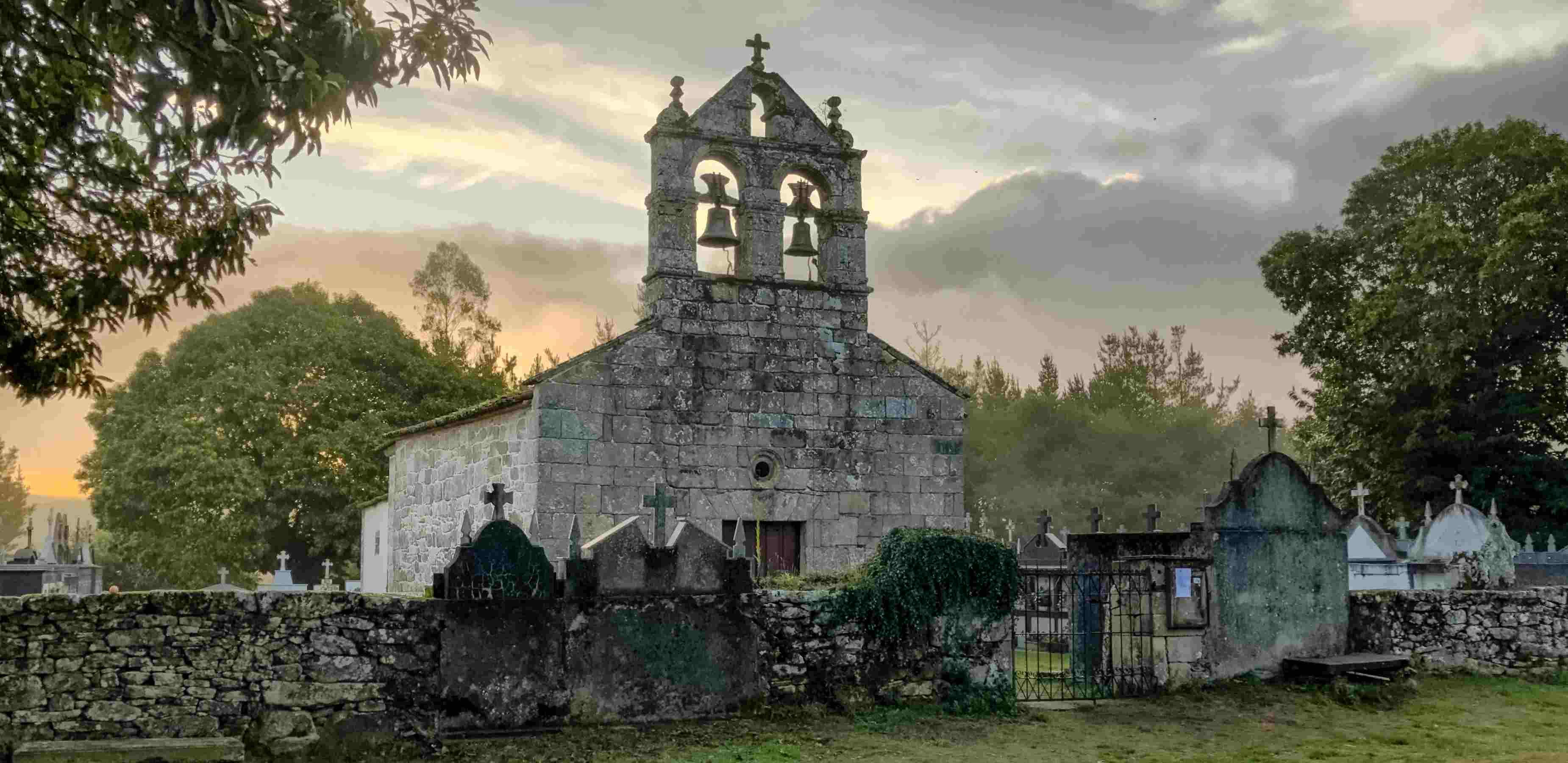 Mercadoiro's church in French Way