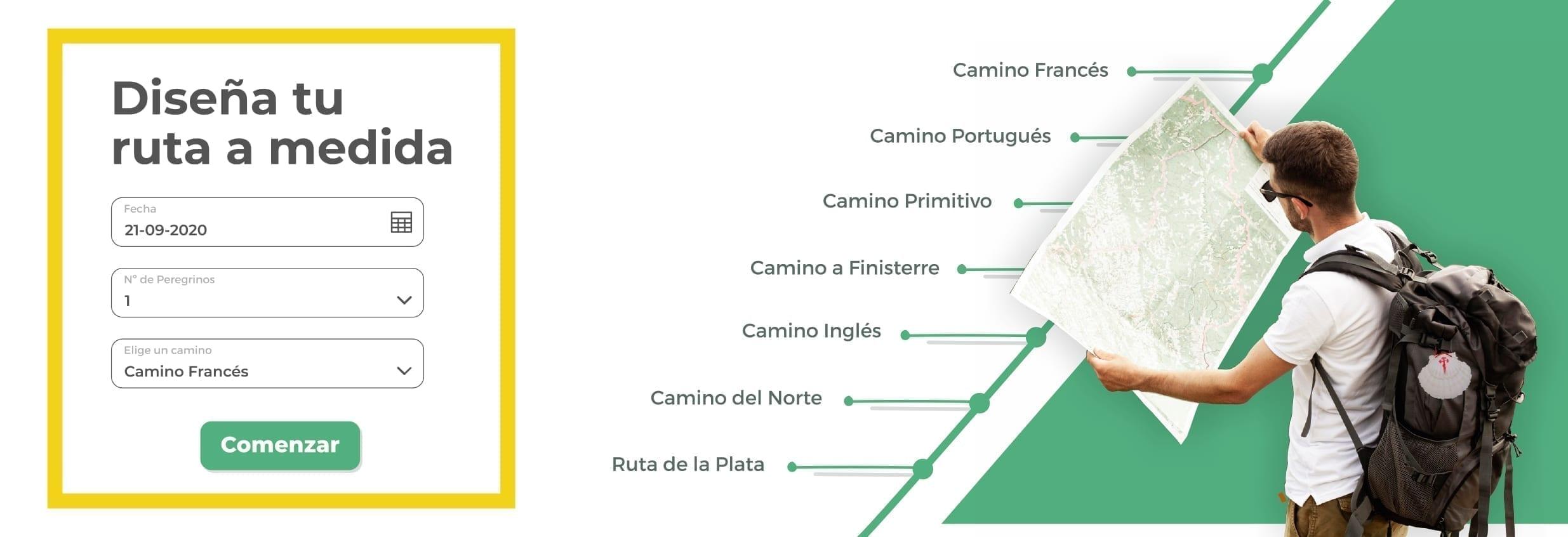 Diseña tu ruta a medida