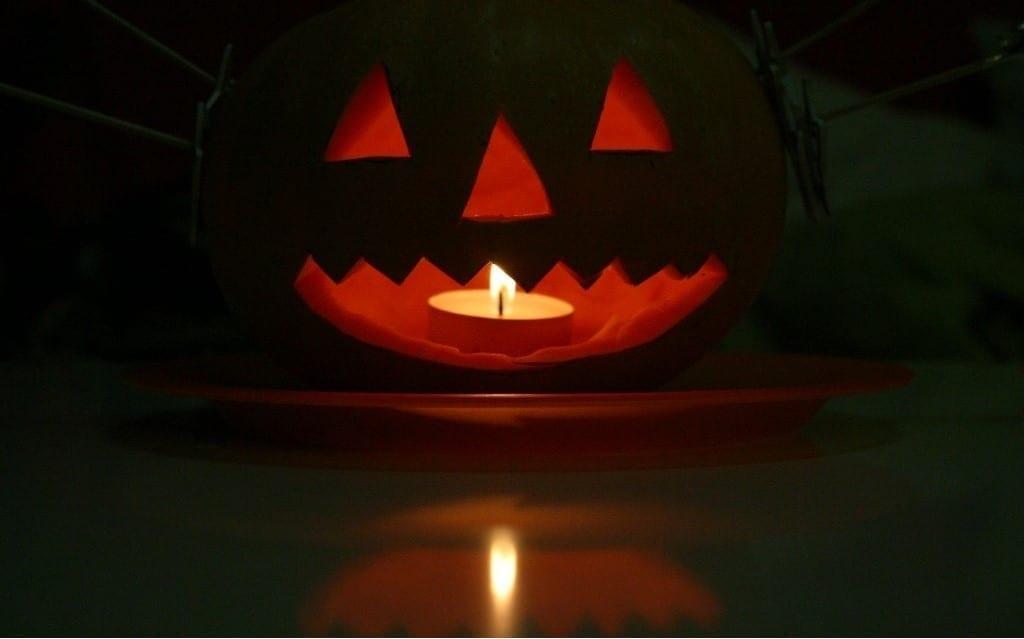Calabaza de Halloween.