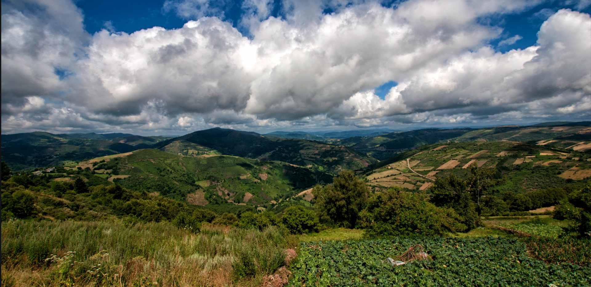 Vistas desde O Cebreiro Sierra de Ancares