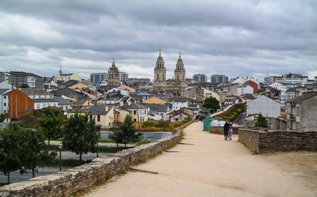 Panorámica de Lugo